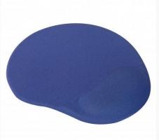 Podložka pod myš - ergonomická, gelová, modrá