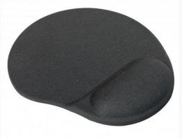 Podložka pod myš - ergonomická, gelová, černá