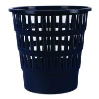 Odpadkový koš 16 l Donau - perforovaný, plastový, tmavě modrý