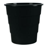 Odpadkový koš 16 l Donau - plastový, černý