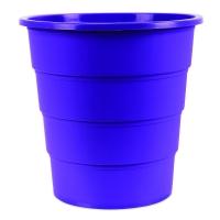 Odpadkový koš 16 l Donau - plastový, fialový