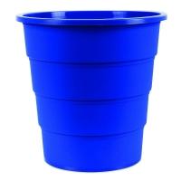 Odpadkový koš 16 l Donau - plastový, modrý