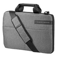 "Taška na notebook Signature II Slim HP - polyester, 14"", šedá"