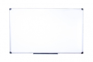 Magnetická tabule Alfa - 90x120 cm, lakovaný povrch, hliníkový rám