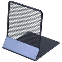 Drátěná zarážka na knihy Donau - 130x155x165 mm, černá, 2 ks