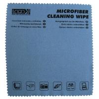 Mikroaktivní utěrka na skleněné povrchy Logo - s potiskem, 30x30 cm, modrá