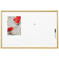 Magnetická tabule ECO Board - 60x90 cm, lakovaný povrch, dřevěný rám