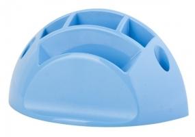 Plastový stojánek ICO Design - univerzál, modrý