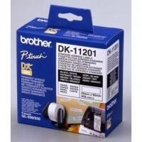 Brother papírové štítky 29mm x 90mm, bílá, 400 ks, DK11201, pro tiskárny řady QL
