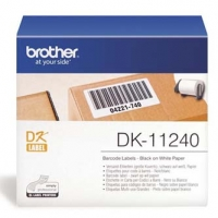 Brother papírové štítky 102mm x 51mm, bílá, 600 ks, DK11240, pro tiskárny řady QL