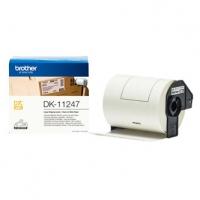Brother papírové štítky 103mm x 164mm, bílá, 180 ks, DK11247, pro tiskárny řady QL