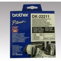 Brother filmová role 29mm x 15.24m, bílá, 1 ks, DK 22211, pro tiskárny štítků
