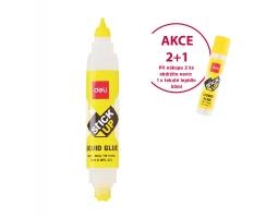 2 ks tekuté lepidlo Deli Stick Up EA21310 - dvojité, 35 ml + DÁREK 1x tekuté lepidlo Stick Up 50 ml - DOPRODEJ