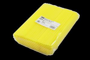 Jumbo brčko - 25 cm, žluté, 250 ks - DOPRODEJ
