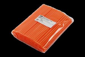 Jumbo brčko - 25 cm, oranžové, 250 ks - DOPRODEJ