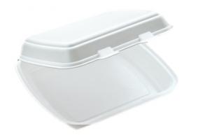 Dvouzámkový menu box EPS - jednodílný, 125 ks