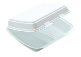 Dvouzámkový menu box EPS - dvoudílný, 125 ks