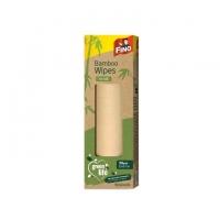 Kuchyňské utěrky Fino Green Life - role, 25x27 cm, bambus, natural, 35 ks