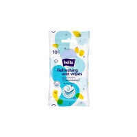 Antibakteriální vlhčené ubrousky na ruce Bella - 10 ks - DOPRODEJ