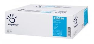 Skládaný papírový ručník ZZ Papernet Special Z-Top 416626 - dvouvrstvý, 20,3x24 cm, 100% celulóza, bílý, 4000 ks