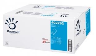 Skládaný papírový ručník ZZ Papernet Special V-Top 402292 - dvouvrstvý, 21x24 cm, 100% celulóza, 3150 ks