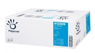 Skládaný papírový ručník ZZ Papernet Special Z-Fold 412009 - dvouvrstvý, 22x24 cm, 100% celulóza, 4000 ks