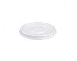 Kulaté víčko pro termo misku na polévku 400-500 ml - XPS, bílé, 50 ks