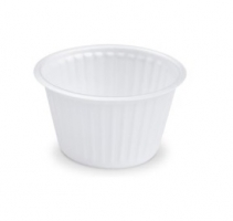 Kulatá termo miska na polévku 500 ml - XPS, bílá, 50 ks