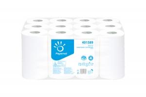 Papírový ručník v roli Papernet Star Mini 401589 - dvouvrstvý, 100% celulóza, hladký, 67 m, 12 rolí