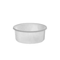 Kulatá miska 200 ml - plastová, transparentní, 1000 ks