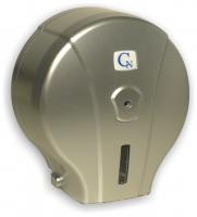 Zásobník na toaletní papír Jumbo 190 Cormen - plastový, metallic