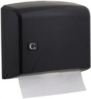 Zásobník na papírové ručníky ZZ Cormen Z200 - úzké ručníky, plastový, černý