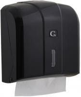Zásobník na papírové ručníky ZZ Cormen - 23x25 cm, plastový, černý