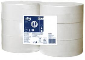 Toaletní papír Tork Advanced Jumbo 260 120272 - dvouvrstvý, bělený recykl, 360 m, systém T1, 6 rolí