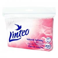 Vatové tyčinky Linteo Care & Comfort - sáček, 200 ks