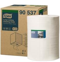 Čistící utěrka Tork Long-Lasting 90537 - jednovrstvá, 38x32 cm, netkaná textilie, systém W1,2,3, 300 útržků