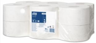 Toaletní papír Tork Advanced Mini Jumbo 120280 - dvouvrstvý, bělený recykl, 170 m, systém T2, 12 rolí