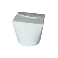 Papírový box na nudle - malý, 900 ml, bílý, 50 ks