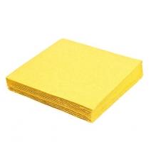 Koktejlové ubrousky Harmony Professional - 24x24 cm, dvouvrstvé, žluté, 250 ks - DOPRODEJ