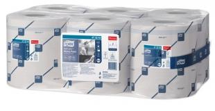 Papírové utěrky Tork Reflex Midi 473242 - jednovrstvé, recykl, 857 útržků, systém M4, 6 rolí