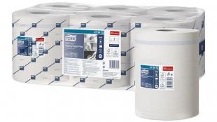 Papírové utěrky Tork Reflex Plus 473472 - dvouvrstvé, celulóza+recykl, systém M4, 450 útržků, 6 rolí