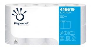 Toaletní papír Papernet Special 416619 - dvouvrstvý, deinked, bílý, 27,5 m, 8 rolí