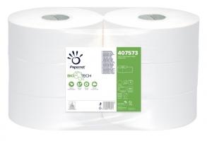 Toaletní papír Papernet BioTech Maxi Jumbo 270 407573 - dvouvrstvý, 100% celulóza, 247 m, 6 rolí