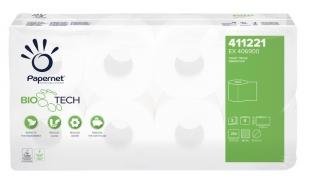 Toaletní papír Papernet BioTech 411221 - třívrstvý, 100% celulóza, 27,5 m, 8 rolí