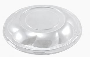Kulaté víčko na misku na salát 1000 ml - plastové, transparentní, 50 ks