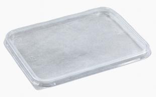 Hranaté víčko na misku 1000/1500/2000 ml - plastové, transparentní, 50 ks