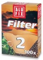 Kávový filtr Alufix č.2 - 100 ks