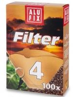 Kávový filtr Alufix č.4 - 100 ks