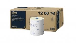 Papírové ručníky Tork Matic 120076 - v roli, 21x25 cm, dvouvrstvé, recykl, zelené, systém H1, 600 útržků, 6 rolí