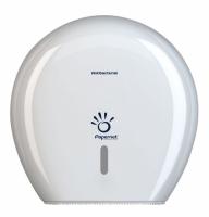 Antibakteriální zásobník na toaletní papír Maxi Jumbo 290 Papernet 416146 - plastový, bílý